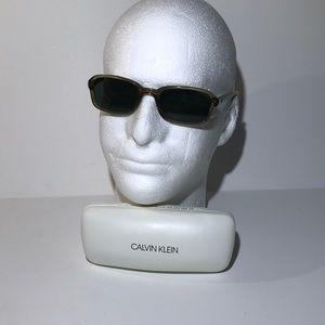 Calvin Klein Sunglasses Olive